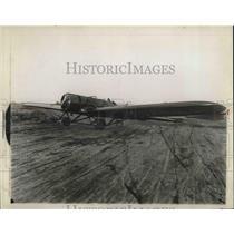 1930 Press Photo Emsco Plane for Charles A. Rochevelle's Pacific flight.