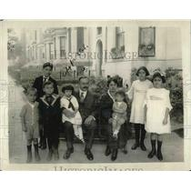 1920 Press Photo Newly Appointed Minister From Guatemala & Family