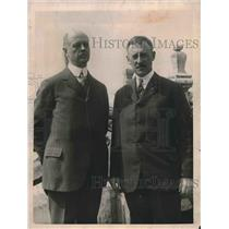 1923 Press Photo T. Guthrie & Henry Stimson of National Coal Association