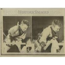 1967 Press Photo Karate Children Sacramento California - RRT24055