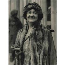 1923 Press Photo Mrs Margaret Campbell Goodman, deep sea salvage diver