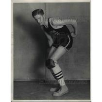 1929 Press Photo Frank Nemeth, basketball player for Union Trusts