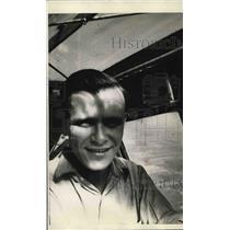 1938 Press Photo Russ Morris Bob McDaniel Pilots - nea96138