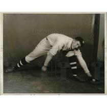 1930 Press Photo Frank Nemeth 1st Baseman For Class A White Motors