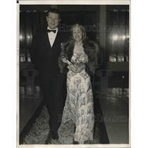 1940 Press Photo Mr. and Mrs. Ira Garner New York Social Registries