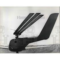 1966 Press Photo Winged Helicopter, Lockheed-California Company Test, Burbank