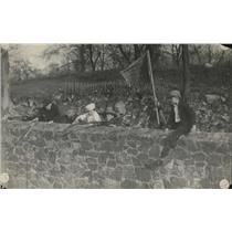 1918 Press Photo Boys Playing