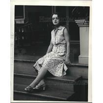 1930 Press Photo Betty Hurtt - nea91386