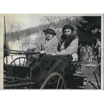 1931 Press Photo Princess Miguel de Draganza and her son Miguel.