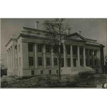 1923 Press Photo Red Cross Building in Washington D.C.