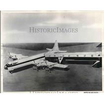 1957 Press Photo Aero-Gangplank developed by Lockheed Air Terminal, Inc.