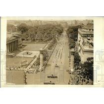 1923 Press Photo Garden of Allah Shrine Pilgrims to Washington - nex05305