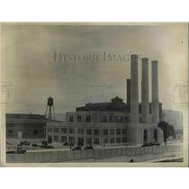 1934 Press Photo LaGuardia New York Airport Incinerator