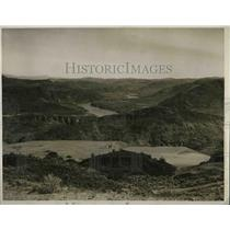 1930 Press Photo Columbia River surveying by U.S. Corps engineers.