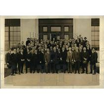 1921 Press Photo Lord Riddle & Correspondents