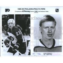 1996 Press Photo Ilkka Sinisalo Philadelphia Flyers I - RRS91205