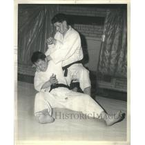 1962 Press Photo Ronald Hoffman Judo Specialist - RRS42201