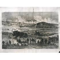 1938 Press Photo Artist Conception Gettysburg Battle - RRS09791