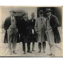 1927 Press Photo Alberto Pani, Mexican SecretaTreasury