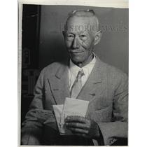 1929 Press Photo Henry c. Finkley of California - nea85800