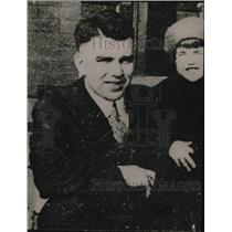 1920 Press Photo H.B. Rhodes and his daughter Catherine
