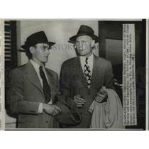1949 Press Photo Stanislaus Waitkus father of Eddie and Paul Logan Airport