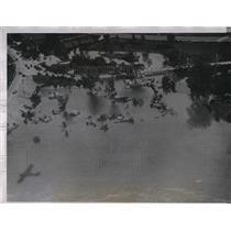 1935 Press Photo Kansas City Area Suffers Flooding - nea99917