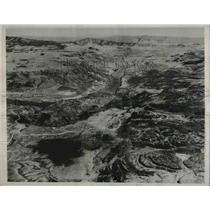 1933 Press Photo Grand Coulee Dam made by 116th Observation Squadron