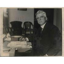 1923 Press Photo Georege S. Rice, Chief Mining Engineer of Bureau of Mines