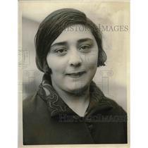 1926 Press Photo Angela Canizio San Francisco Immigrant