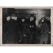 1923 Press Photo Refugee Ernest Judet returning to Paris