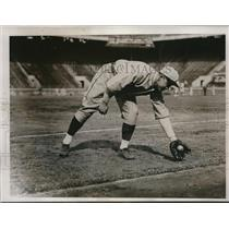 1934 Press Photo Shortstop Don Kellett, University, Pennsylvania, Boston Red Sox