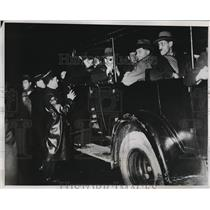 1934 Press Photo Royalists Riot in Paris France 100's Arrested