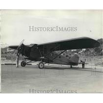 1931 Press Photo Herbert Partridge World war Flier