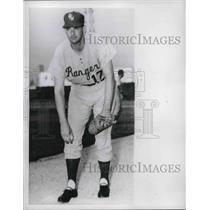 1960 Press Photo Don Larsen Of The Rangers - nes02800