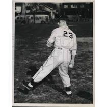 1949 Press Photo Jeb Wiedrich, Cleveland Heights - nes01303