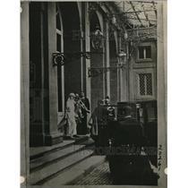 1923 Press Photo Princess Yolanda weds Count Calvi Di Bergolo in Italy