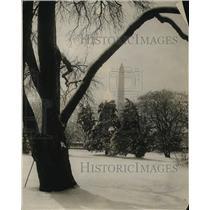 1923 Press Photo Washington Monument