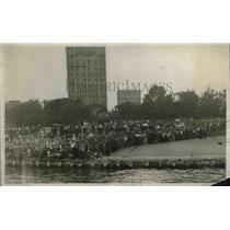 1927 Press Photo Scene Along Chicago Waterfront - nea87008