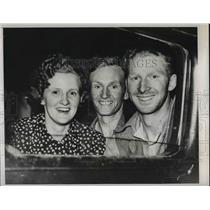 1939 Press Photo Hunter Moody and Humphrey Moody with Mother Mrs Hunter Moody