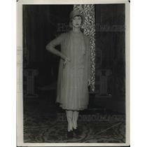 1923 Press Photo St. Hotel Miss Hosalin Kress