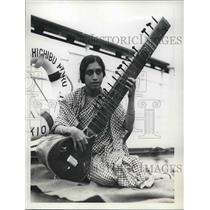 1934 Press Photo Mrs. S.H. Kesarcod India