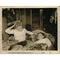1921 Press Photo William and Robert Bradbury in The Adventures of Bob and Bill