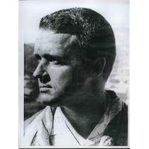 1968 Press Photo Thomas Taylor, Survivor in Jetliner Crash in Windhoek