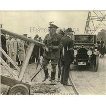 1917 Press Photo Col. Horne of the British Army