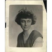1918 Press Photo Miss Marjorie Jones, photographer for Y.M.C.A.