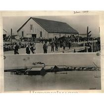 1924 Press Photo Alaskan Port Town Of Fort Moller