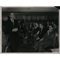 1938 Press Photo Adolf Dinkelacker, organizer of Ger-Amer youth movement