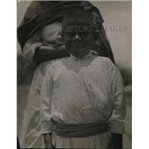 1920 Press Photo An African boy with many missing teeth in his smile