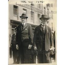 1918 Press Photo John P Mitchell ex-mayor of New York